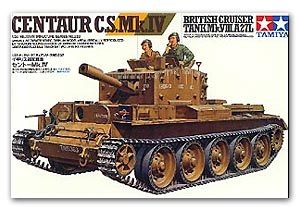 TAMIYA 1/35 scale models 35232 British Tour Tank Mk. Centauri C.S.Mk.IV Fire Support