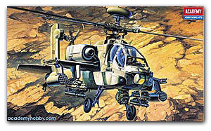 ACADEMY 12262 AH-64A (MISP) Apache attack helicopters