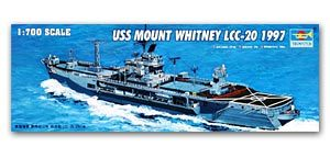 "Trumpeter 1/700 scale model 05719 LCC-20 ""Whitney Hill"" command ship 1997"