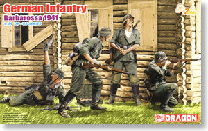 1/35 scale classification Dragon 6580 German infantry Baba Rosa 1941
