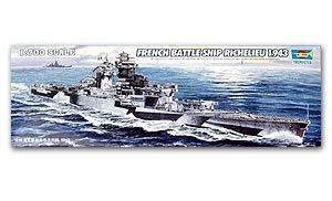 "Trumpeter 1/700 scale model 05750 French Navy ""Richelieu"" Raptors 1943"