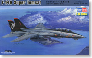 Hobby Boss 1/48 scale aircraft models 80368 F-14D Super Duo Carrier Fighter *