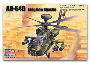 Hobby Boss 1/72 scale helicopter model aircraft 87219 AH-64D Longbow Apache attacke helicopter