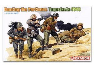 1/30 scale model Dragon 6491 Hunting guerrillas Yugoslavia 1943