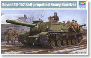 Trumpeter 1/35 scale model 01571 Soviet SU-152 hunter 152mm heavy self-propelled gun *