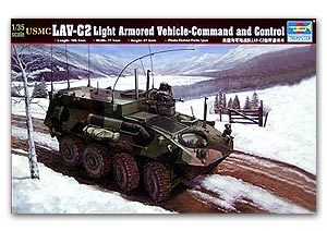 Trumpeter 1/35 scale model 00371 US Marine Corps LAV-C2 8X8 Wheeled Command Vehicle