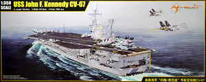 "Trumpeter factory Merit 1/350 scale model 65306 US Navy ""John F. Kennedy"" aircraft of carrier CV-67"