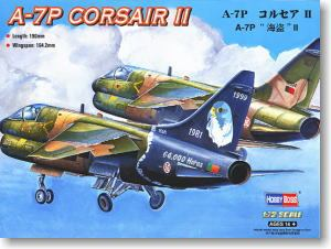Hobby Boss 1/72 scale helicopter model aircraft 87205 A-7P Pirate II Attacker