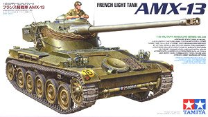 TAMIYA 1/35 scale models 35349 France AMX-13 light chariot