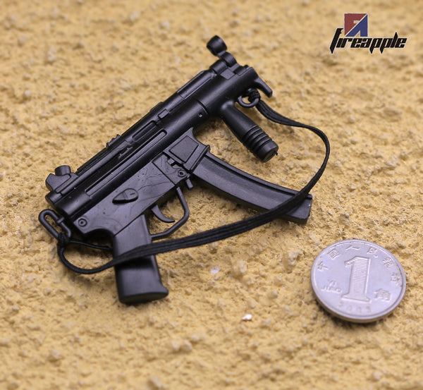 KNL HOBBY Action Figure 1/6 scale model 12 inch doll 1/6 soldiers accessories 1 to 6 micro-punch MP5 MP5K black gun model