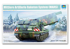 TRUMPETER 01046 Modern German multi-purpose motorized rocket launcher system (MLRS)
