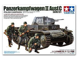 "TAMIYA 1/35 scale models 35299 2 light chariot type C ""Polish front"""