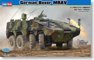 Hobby Boss 1/35 scale tank models 82480 Germany & ldquo; boxer dog & rdquo; 8X8 wheeled armored vehicle