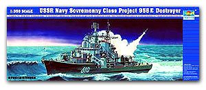 Trumpeter 1/350 scale model 04515 Russian Navy Modern Type II (956E) missile destroyer
