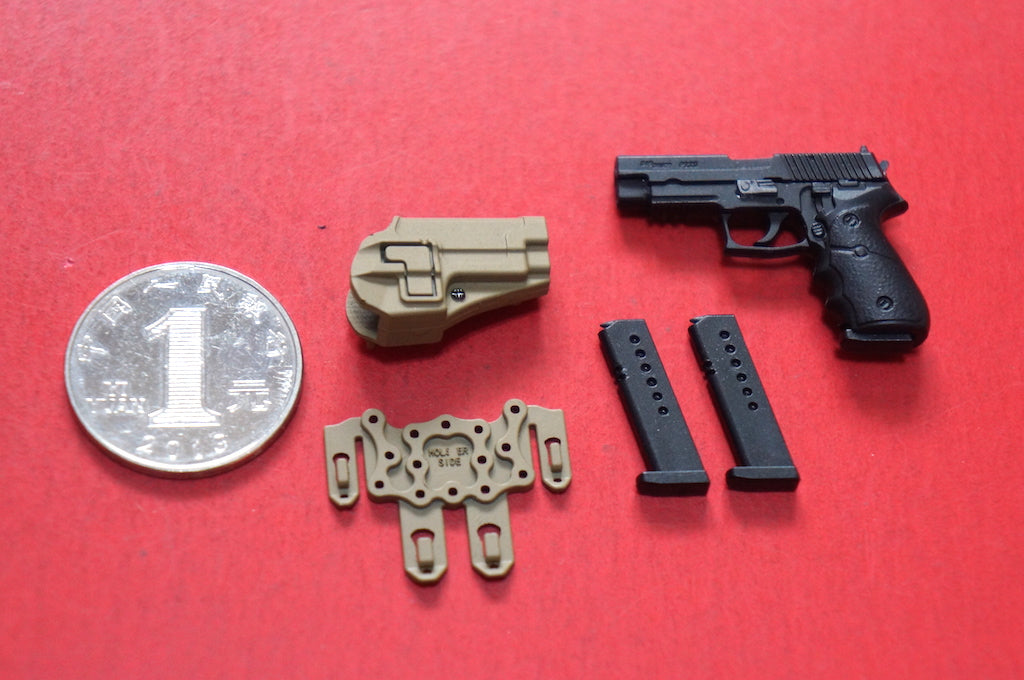 KNL HOBBY Action Figure 1/6 scale model EASY & amp; SIMPLE ES 1/6 Soldier 26005 British Commonwealth Special Forces P220 Model