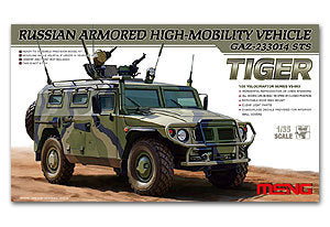 "MENG VS-003 GAZ-233014 STS ""Tiger"" high-mobility armored all-terrain off-road vehicles"