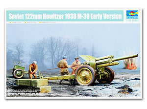 Trumpeter 1/35 scale model 02343 Soviet M30 122mm Howitzera 1938 Early Version