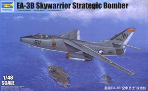 Trumpeter 1/48 scale model 02871 EA-3B Air Warrior Carrier Electronic Attack *