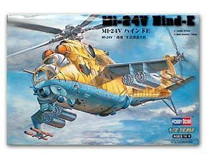 Hobby Boss 1/72 scale helicopter model aircraft 87220 Mi-24V Hero deer E attacke helicopter