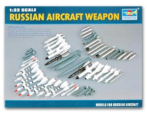 Trumpeter 1/72 scale model 03301 Russian fighter air combat combat equipment combination