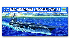 "Trumpeter 1/700 scale model 05732 Navy Nimitz Class CVN-72 ""Lincoln"" Aircraft Carriera"
