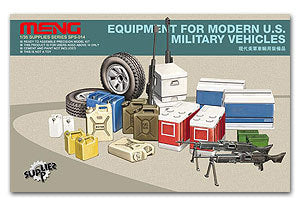 MENG SPS-014 Modern US military vehicle carrying articles