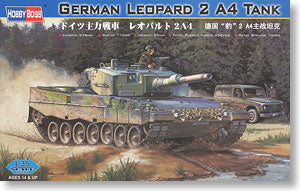 Hobby Boss 1/35 scale tank models 82401 Leopard 2A4 main battle tank