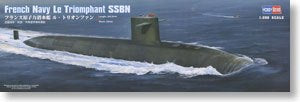 "Hobby Boss 1/350 scale model 83519 French Navy triumph class ""triumph"" strategic missile submarine"