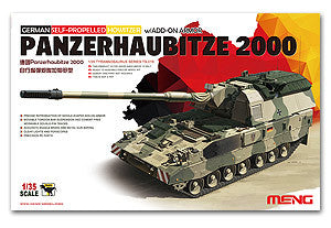 MENG TS-019 PzH2000 155mm self-propelled Panzerhaubitze 2000 Germany Army additional armor type