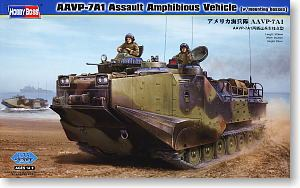 Hobby Boss 1/35 scale tank models 82413 AAVP-7A1 Amphibious Armored Personnel Carriers Hanging Point Type *