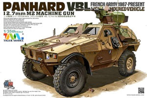 Tiger Model 1/35 scale 4619 France Panhard VBL light armored vehicles 12.7mm heavy machine gun type