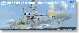 "Trumpeter 1/350 scale model 04545 Royal Navy 23 ""Montrose"" Missile Frigate"