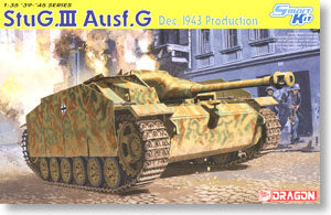 "1/35 scale Dragon 6581 StuG.III Ausf.G post-production type ""December 1943 style"""