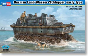 Hobby Boss 1/35 scale tank models 82465 Germany LWS amphibious tractor tractor type *