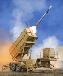 Trumpeter 1/35 scale models 01040 US MIM-104F Patriot Missile System (PAC-3)