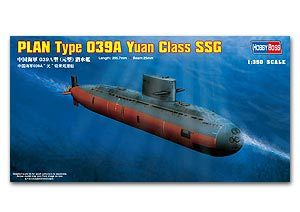 Hobby Boss 1/350 scale models 83510 Chinese Navy 039A class level submarine