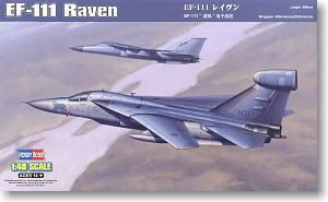 "Hobby Boss 1/48 scale aircraft models 80352 EF-111A ""Raven"" air defense electronic jamming machine *"