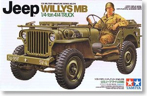 "TAMIYA 1/35 scale models 35219 US ""Willis"" MB 1/4t 4X4 small combat off-road vehicles"