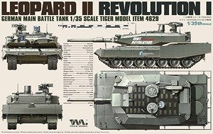 Tiger Model  1/35  scale 4629 Leopard II Revolution I MBT
