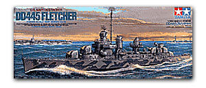 "TAMIYA 78012 US Navy Fletcher Level DD-445 ""Fletcher"" destroyer"