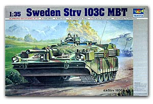 Trumpeter 1/35 scale model 00310 Strv103C main chariot