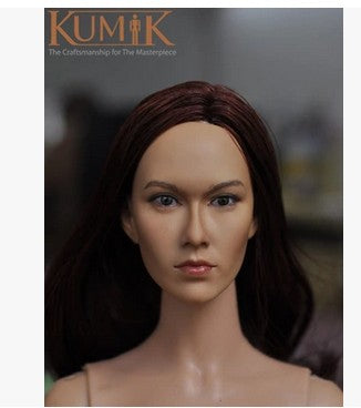 KNL HOBBY KUMIK KM15-30 beautiful head sculpt 1/6 soldier spot for action figures