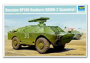 Trumpeter 1/35 scale model 05515 Wheeled armored vehicles equipped with 9P148 anti-tank missile launcher type
