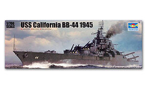 Trumpeter 1/700 scale model 05784 US Navy California Battleship BB-44 1945