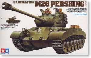 "TAMIYA 1/35 scale models 35254 M26 ""Pershing"" heavy truck"