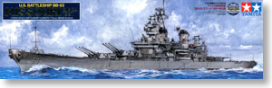 "TAMIYA 78029 US Navy Iowa Class BB-63 ""Missouri"" Battleship 1991"
