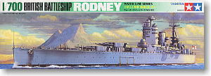 "TAMIYA 77502 World War II Royal Navy Nelson ""Rodney"" battleship"