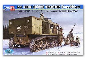 "Hobby Boss 1/35 scale tank models 82407 M4 heavy artillery high speed tractor (3 ""/ 90MM)"