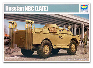 Trumpeter 1/35 scale model 05516 Russian NBC nuclear biochemical reconnaissance vehicle (late type)