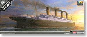 "ACADEMY 14215 Royal Cruise ship ""Titanic"" multicolor molding Edition (1: 400)"